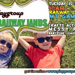 Playgroup at the Railway Lands